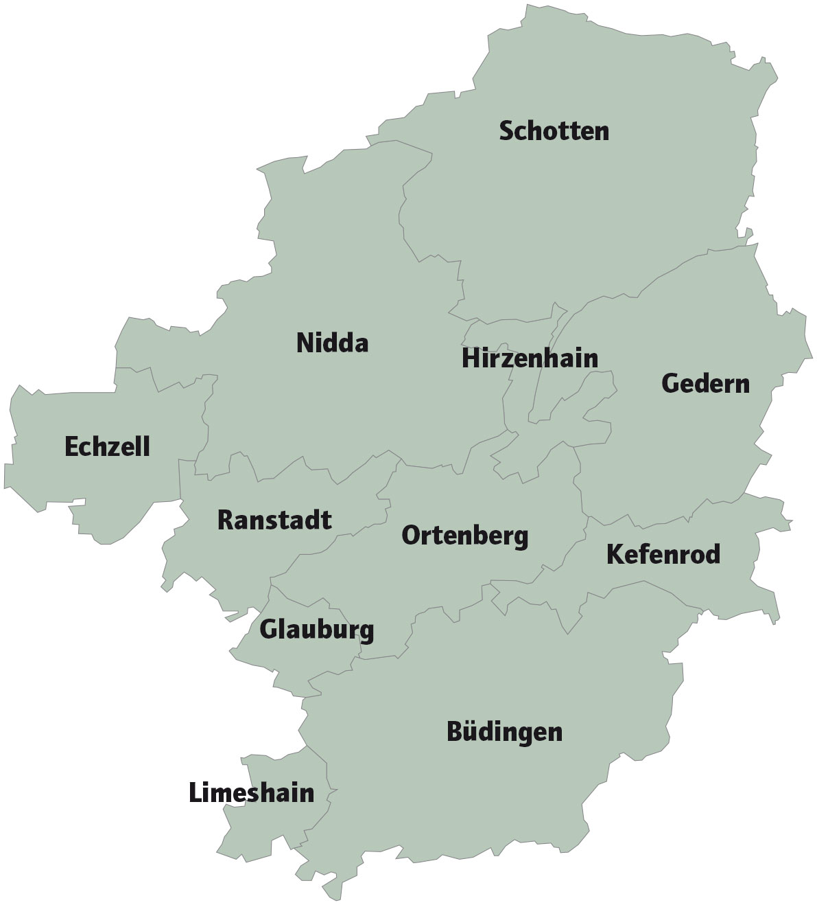 Oberhessen-Karte